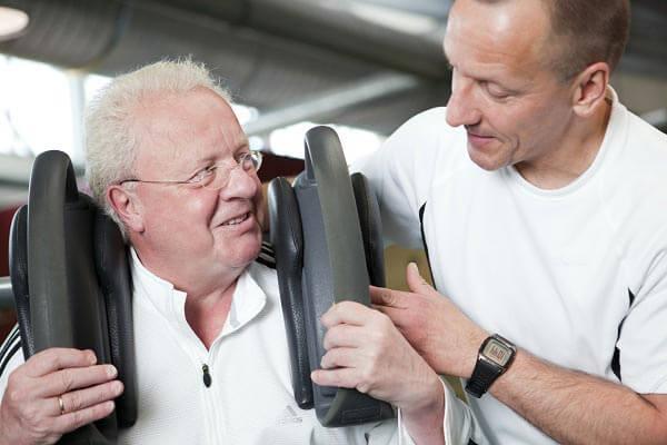 Kraft- und Cardiotraining im Alter