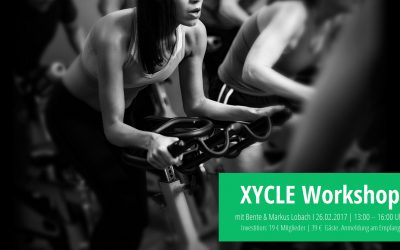 Xycle Workshop mit Bente und Markus am 26.2.2017 von 13:00 bis 16:00 Uhr