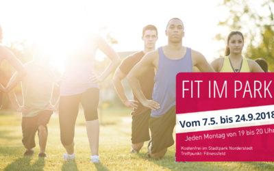 FIT IM PARK – ab 7. Mai jeden Montag von 19 bis 20 Uhr im Stadtpark Norderstedt