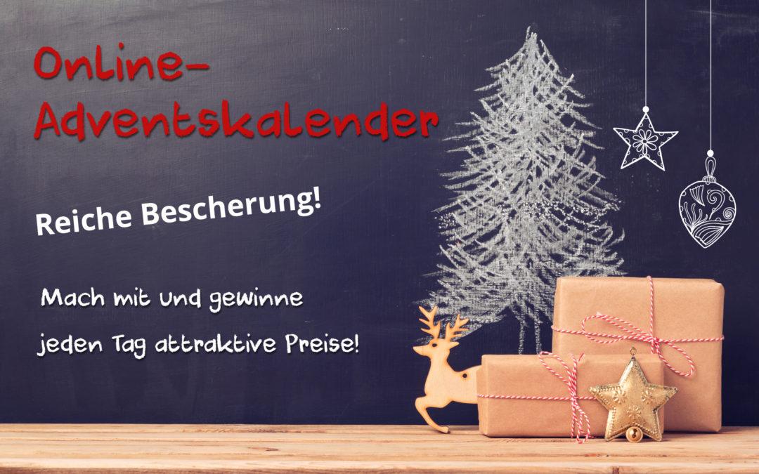 Online-Adventskalender I Mitmachen und gewinnen!