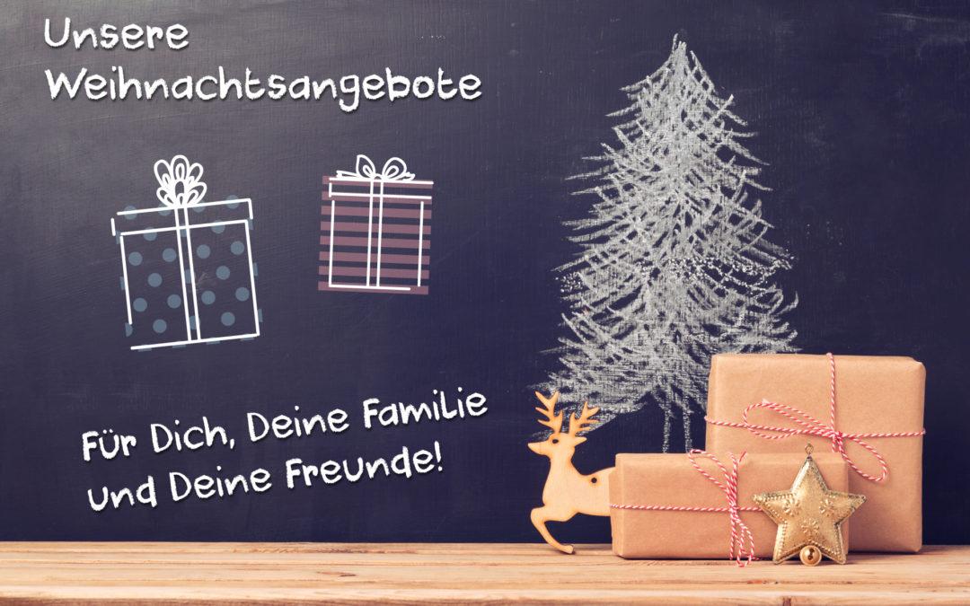 Weihnachtsangebote für Freunde