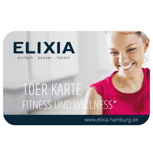 10er karte fitness und wellness elixia vitalclub hamburg fitnessstudio langenhorn. Black Bedroom Furniture Sets. Home Design Ideas