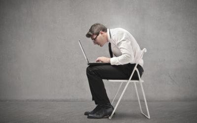 Der fiese Schmerz vom langen Sitzen