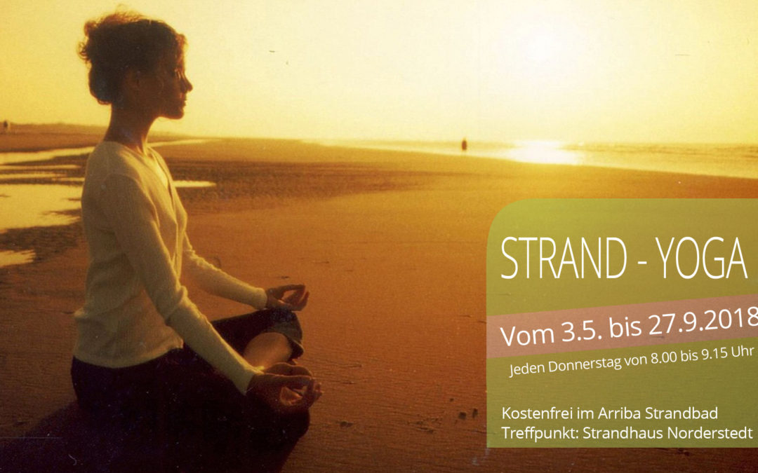 Strand-Yoga im Arriba Strandbad