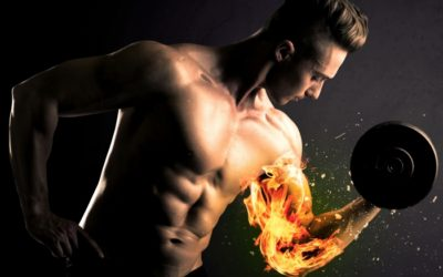 Wehe, wenn der Muskel brennt