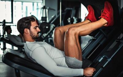 Beine trainieren mit Hand und Fuß