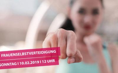 Workshop Frauenselbstverteidigung 10.02.2019 12-15 Uhr