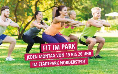 FIT IM PARK – ab 6. Mai jeden Montag von 19 bis 20 Uhr im Stadtpark Norderstedt