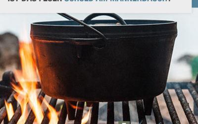 Ist das Feuer schuld am Männerbauch?