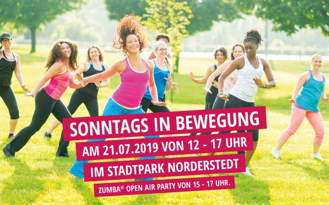 Sonntags in Bewegung mit Zumba Open Air Party