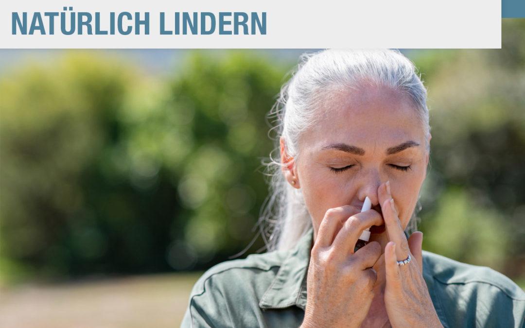 Allergien vorbeugen uns sanft lindern