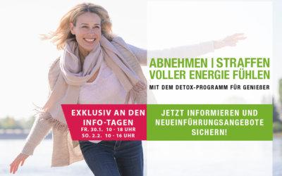 Detox für Geniesser I Infotage am 31.1. und 2.2.2020