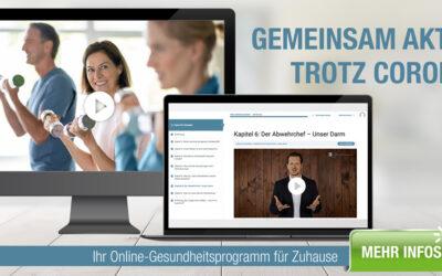 Gesundheitsonline-Portal mit Rezepten, Ratgeber, Hörbücher und Online-Kursen