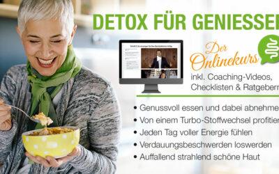 Online Detox-Programm für Genießer