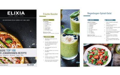 Das ELIXIA Rezeptbuch – jetzt erhältlich!
