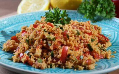 Kochvideo Couscous Salat