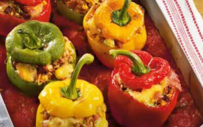 Kochvideo gefüllt Paprika