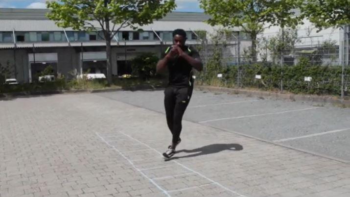 Training mit der Speedleiter