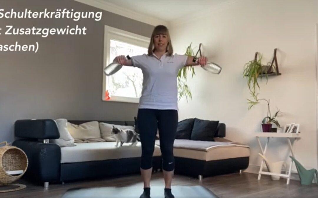 Übungen bei Schulterbeschwerden
