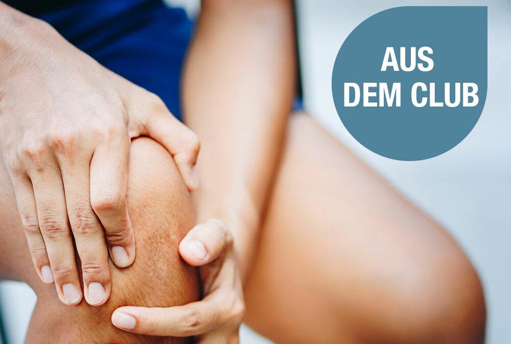 Lassen Sie Gelenkschmerzen hinter sich! Fünf Tipps für ein Gelenk-gesundes Training